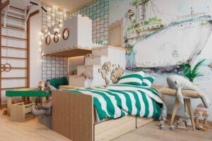pokój dziecięcy wykreowany przez projektant wnętrz